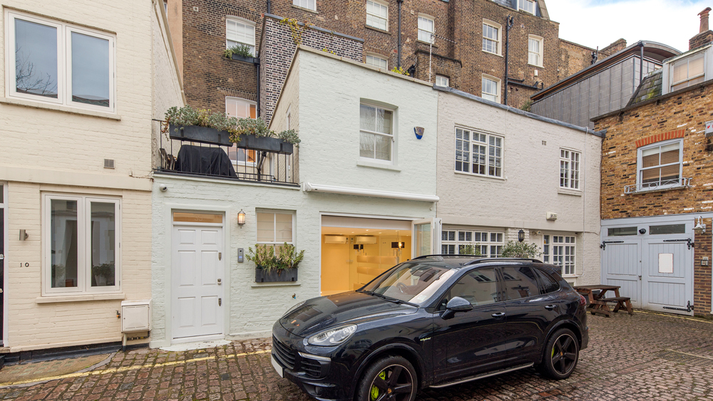Connaught Square townhouse