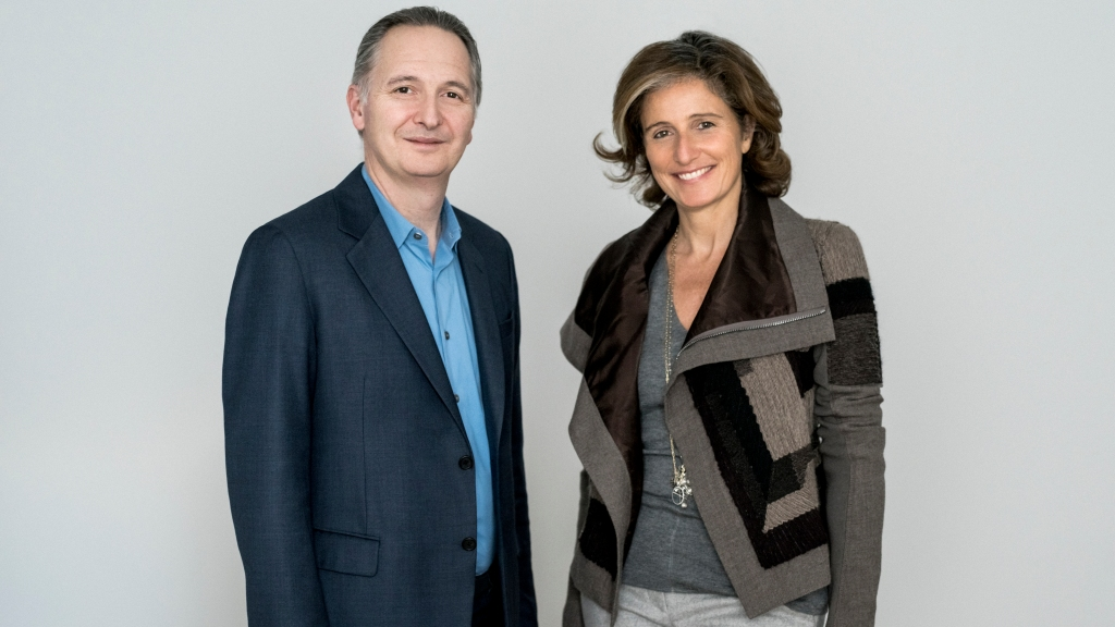 Dominique Lévy and Brett Gorvy.