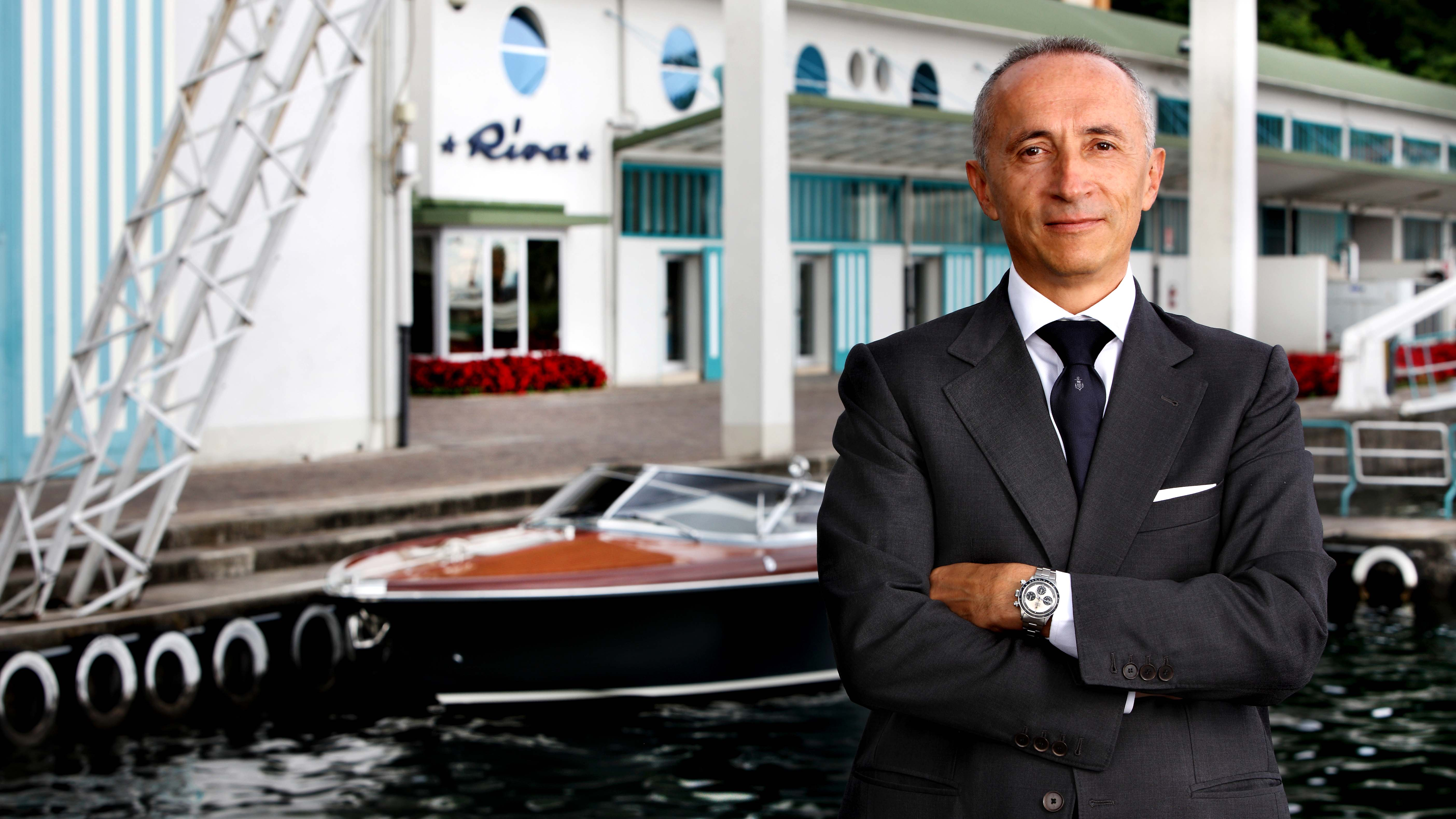 Custom Line Navetta 33 Telli Ferretti CEO Alberto Galassi Yacht superyacht