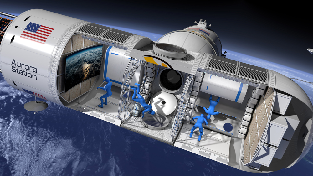 Orion Span's Aurora Station Space Hotel