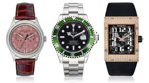 Christie's Watch Auction