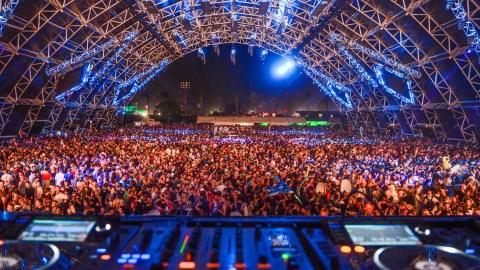 Coachella festival crowd