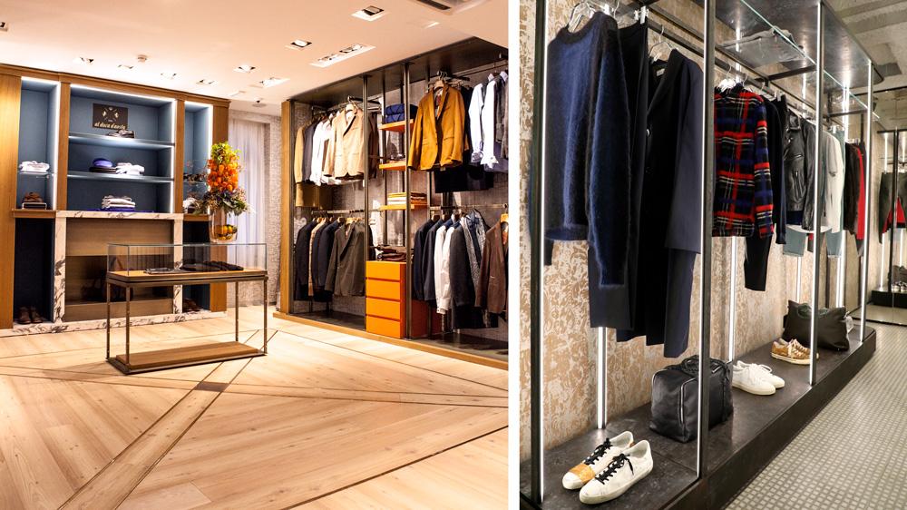 Al Duca d'Aosta Golden Goose stores