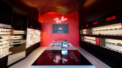 Ray-Ban Opens First West Coast Store at the Grove in Los Angeles.