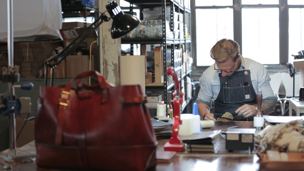 American Leather Bags