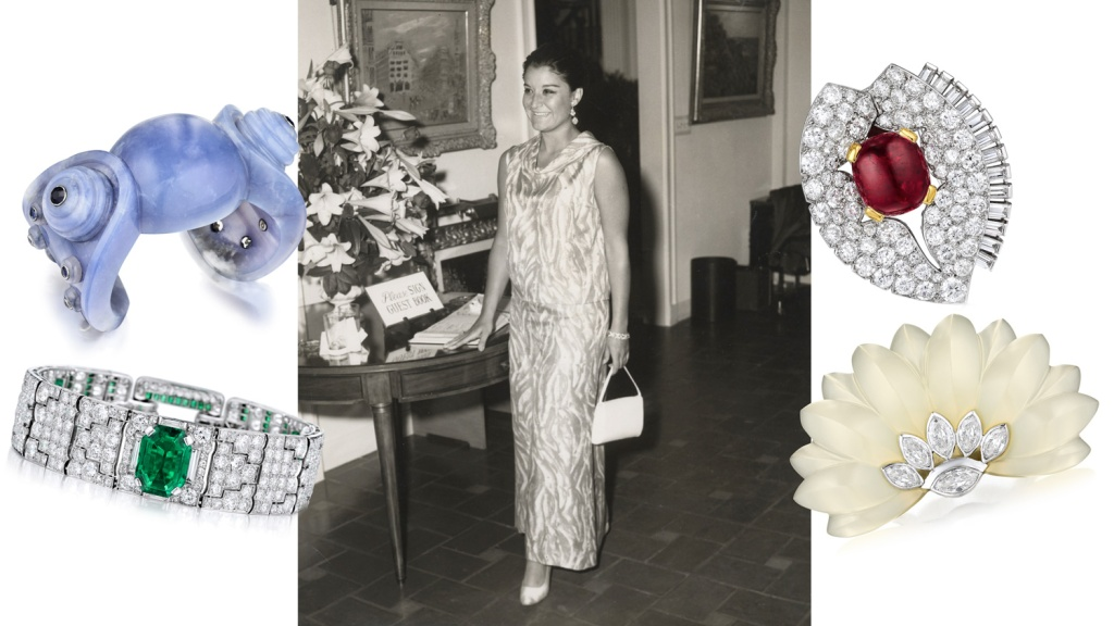 Socialite Bokara Legendre's jewelry collection comes to auction