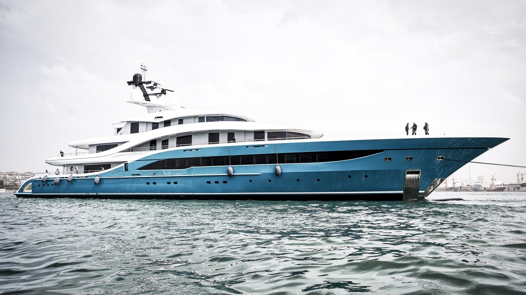 Turquoise Yachts Go Turkey Superyacht H2 Design