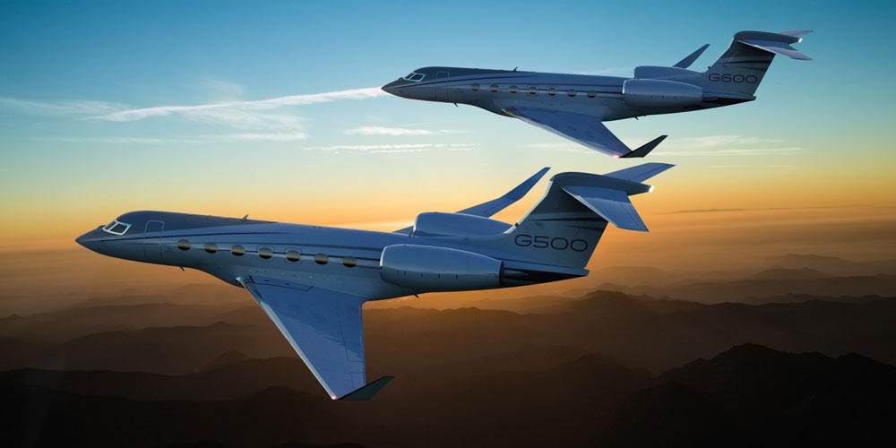 Gulfstream G500 and G600 tandem flight