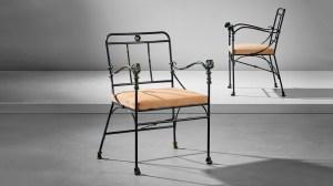 Diego Giacometti Lionhead Armchairs