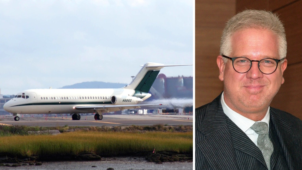 Glenn Beck McDonnell Douglas DC-9 Private Jet Sale