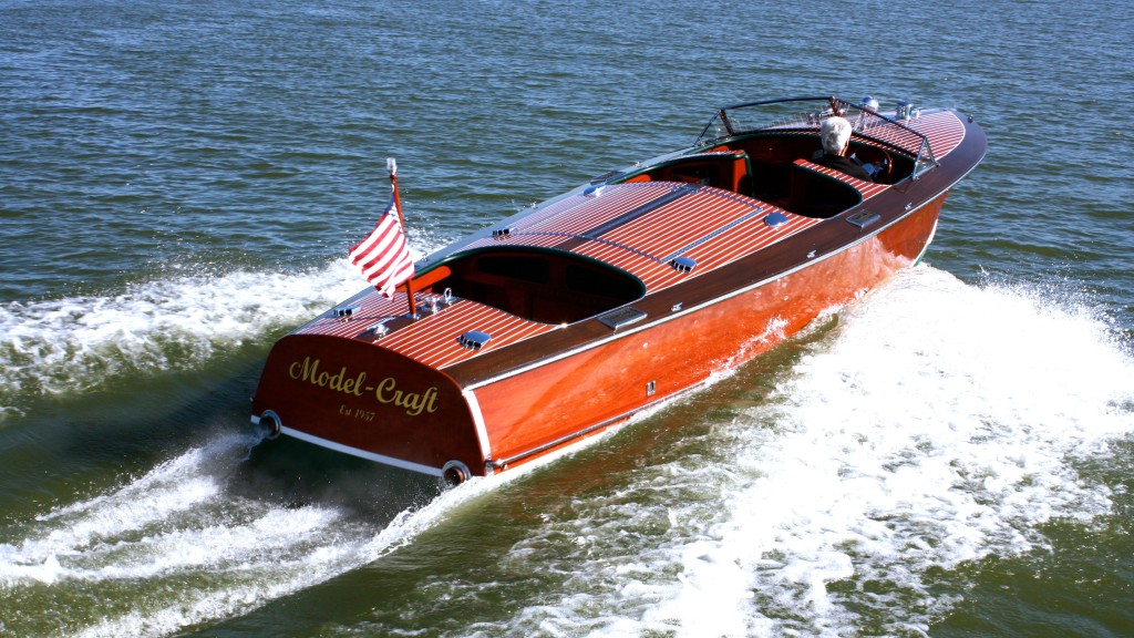 Grand-Craft Super Sport wooden boat