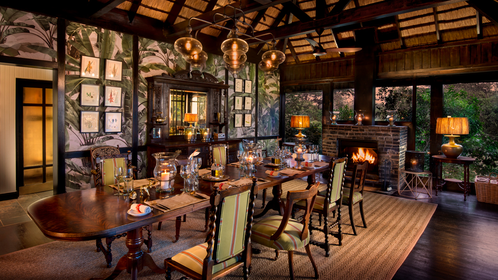 The Dining Room Robb Report, Lodge Style Dining Room Furniture
