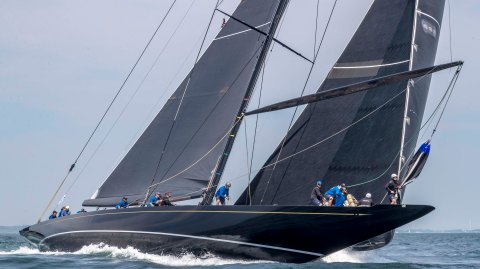 J-Class Sailing Yacht Hanuman