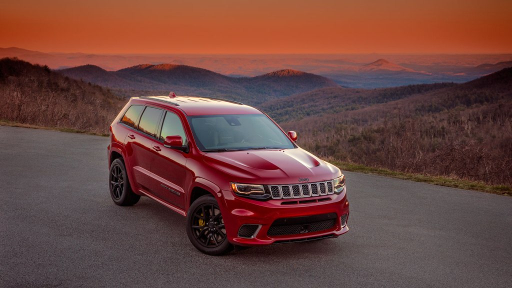 The Jeep Grand Cherokee Trackhawk.