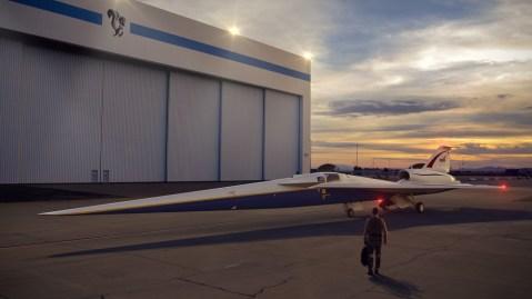 NASA Supersonic X-Plane