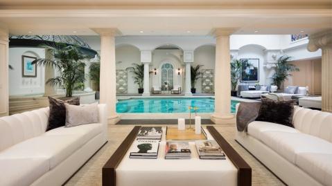 Bel Air Mansion pool