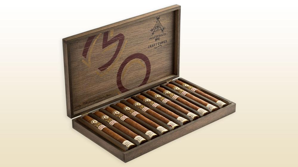 Montecristo Epic Craft Cured cigars