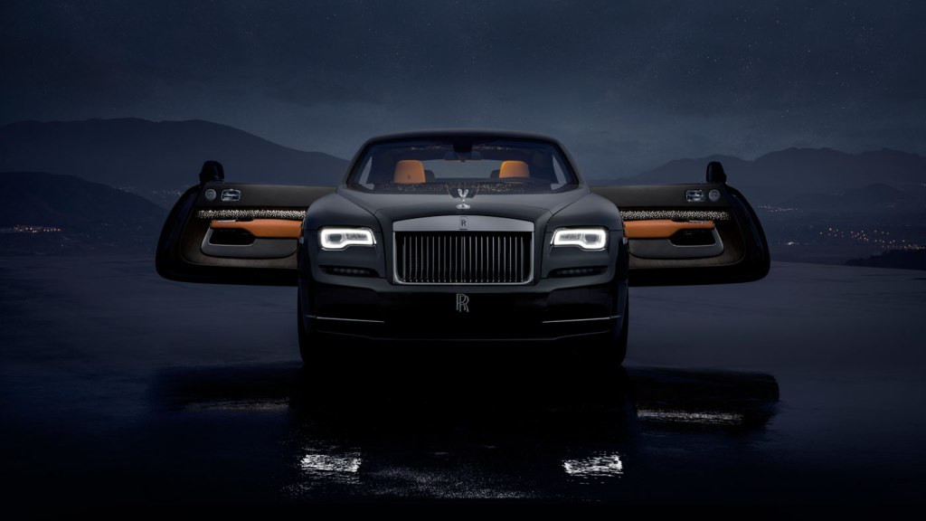 The Rolls-Royce Wraith Luminary Collection.