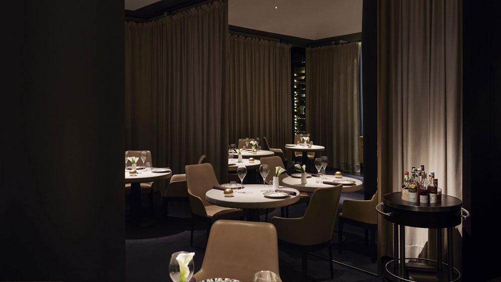 VUN restaurant at the Park Hyatt in Milan