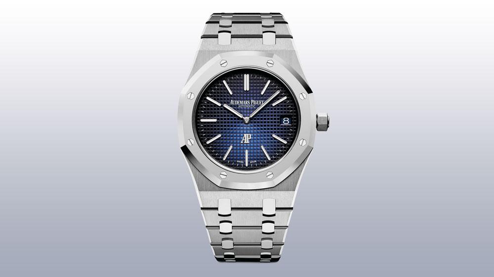 """Audemars Piguet Royal Oak """"Jumbo"""" Extra-Thin watch"""