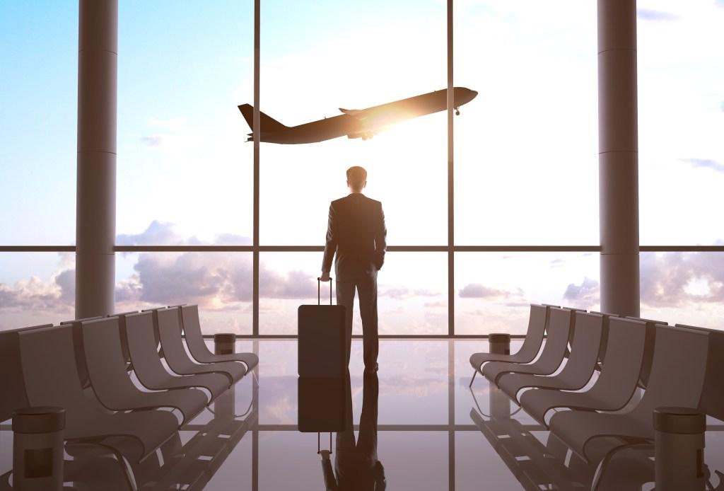 businessman airport