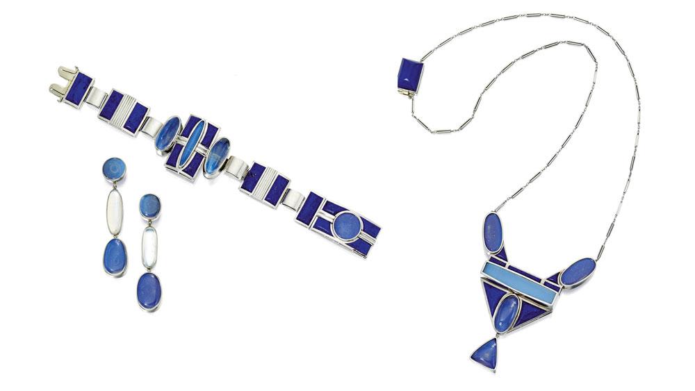 lapis lazuli moonstone jewelry