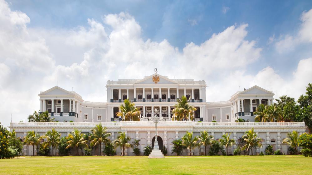 Taj Falaknuma Palace exterior