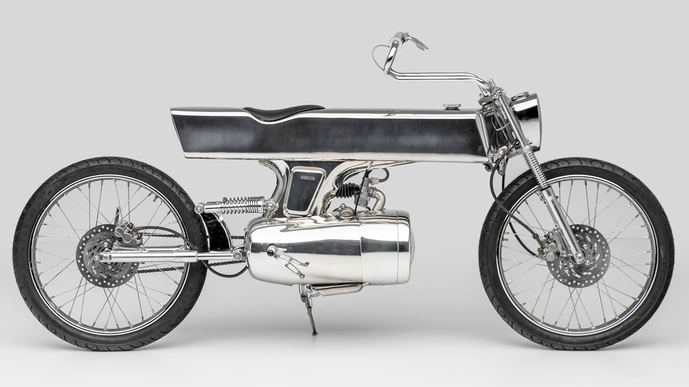The L-Concept motorcycle by Bandit9.