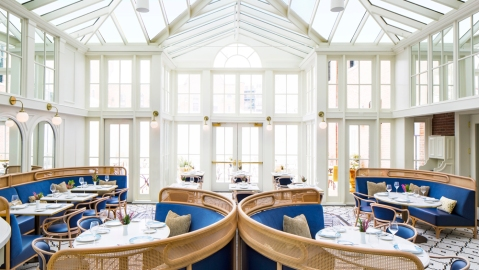 The Adelphi Hotel restaurant