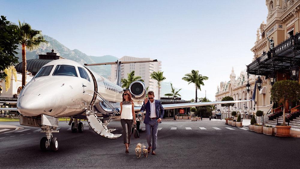 Victor carbon neutral charter flights
