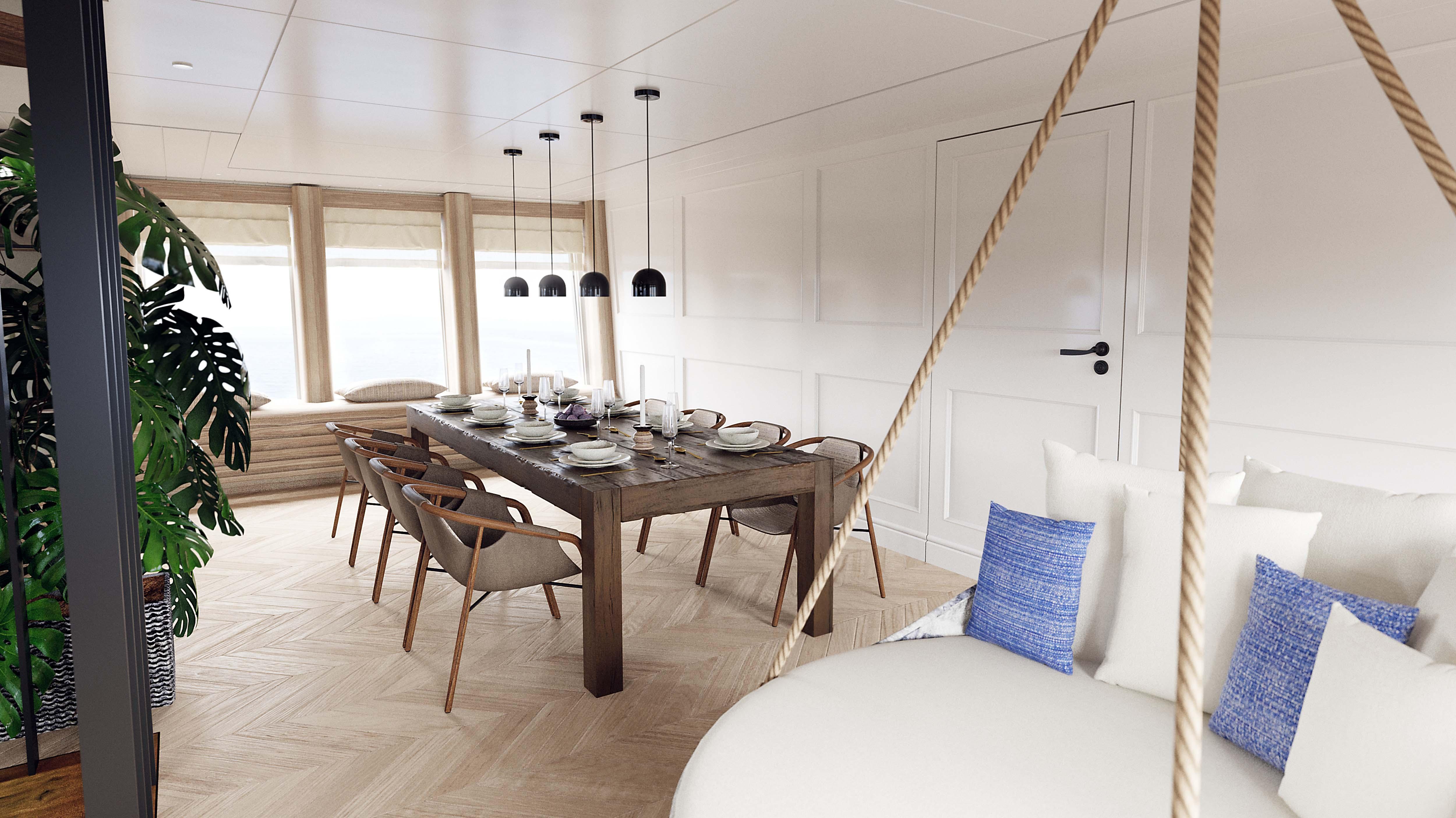 Vripack M5 Yacht Interior Dutch