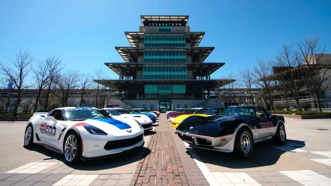 Keith Busse's collection of Indy 500 Pace Car Edition Corvettes being offered by Mecum Auctions.