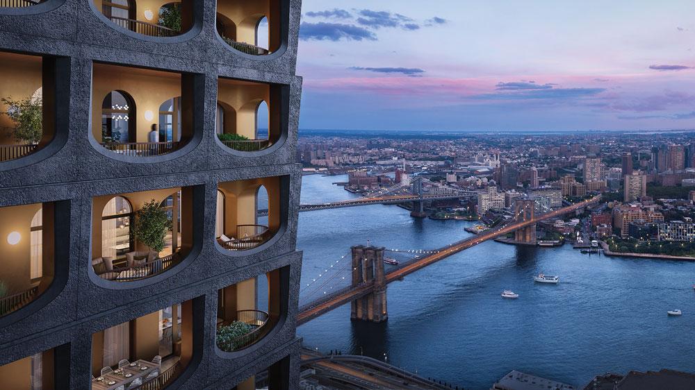130 William luxury tower