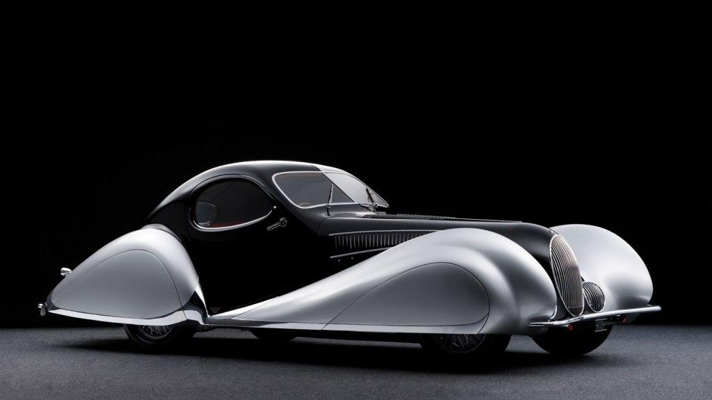 """1937 Talbot-Lago T150-C SS """"Goutte d'Eau"""" Coupe."""