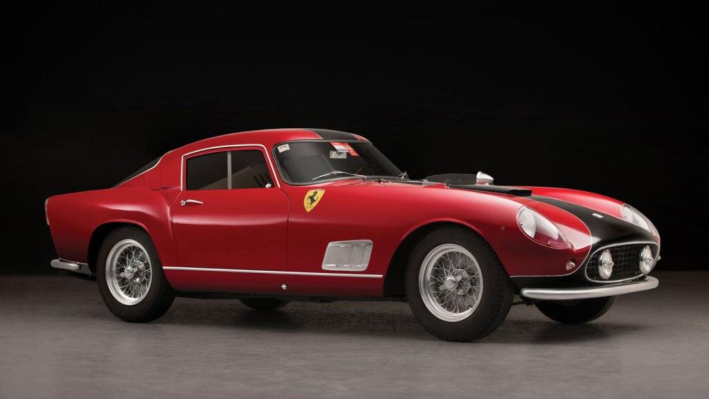 1957 Ferrari 250 GT Berlinetta Competizione 'Tour de France' France' by Scaglietti.