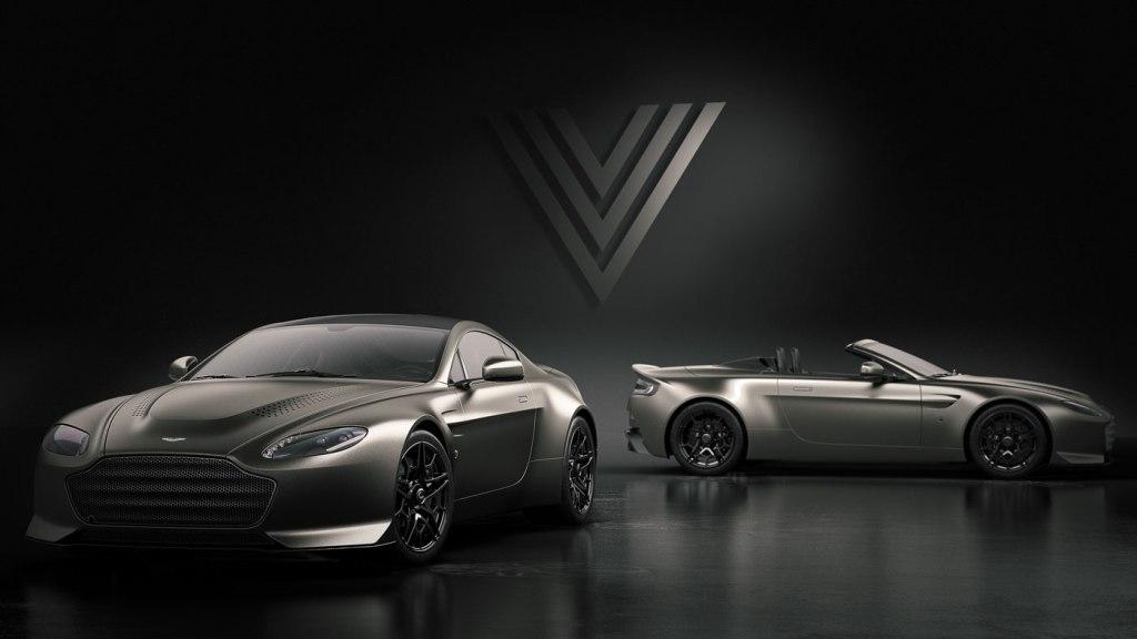 The Aston Martin V12 Vantage V600.