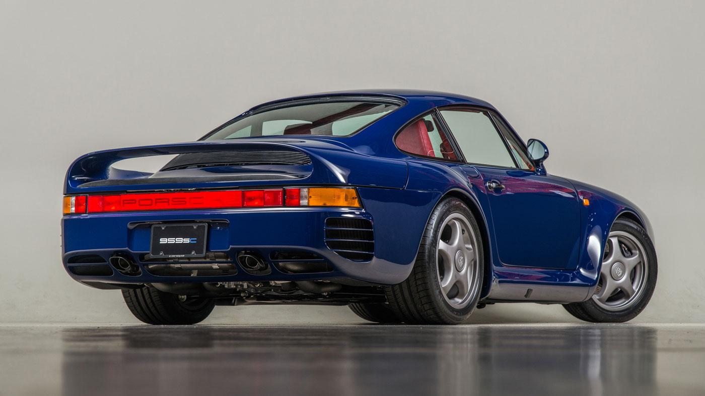 The Canepa Porsche 959SC.