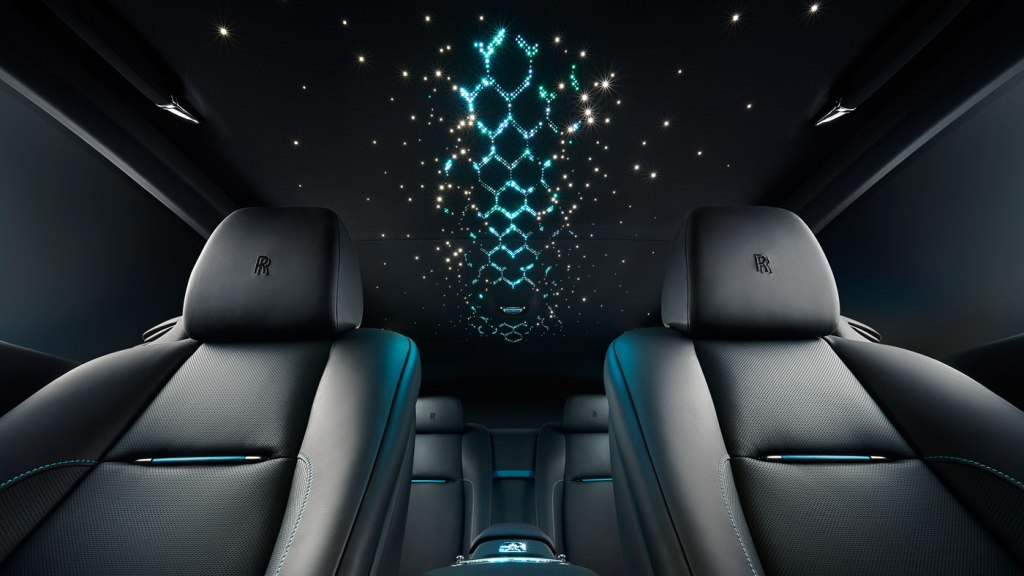 Rolls-Royce's Black Badge Adamas Collection.