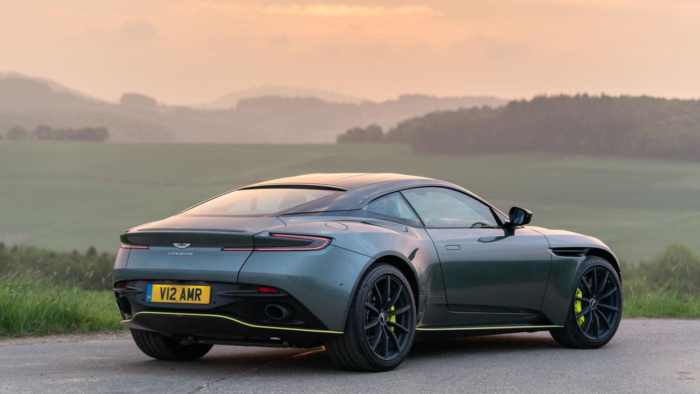 The Aston Martin DB11 AMR.