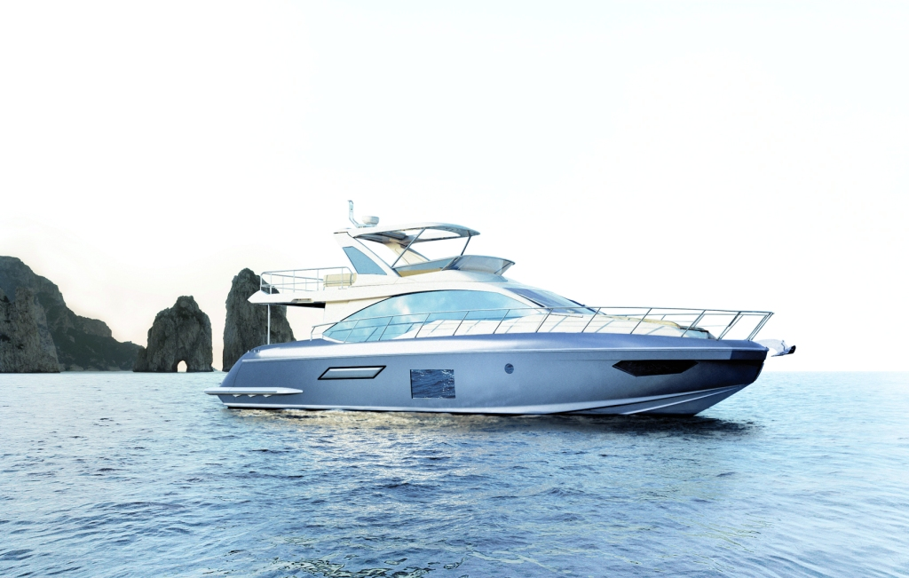 Azimut 55 yacht