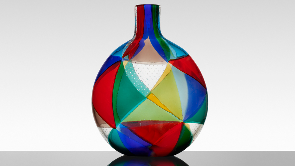 """""""Intarsio"""" Vase (1961–63)"""