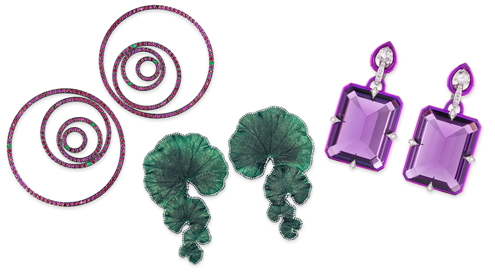 Designs by Roman jeweler Fabio Salini.