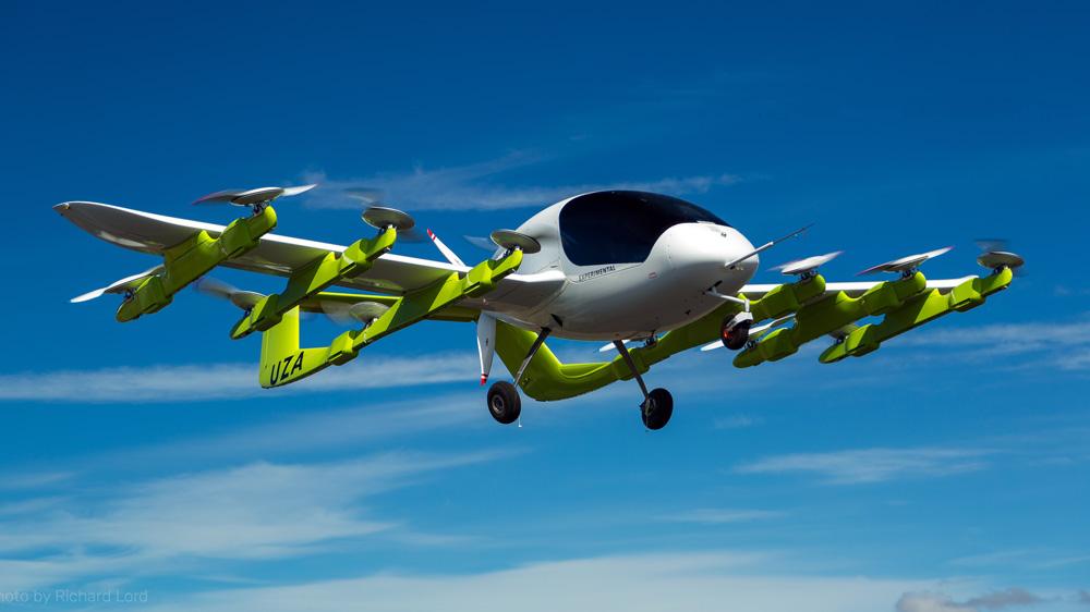 Kitty Hawk's Cora prototype