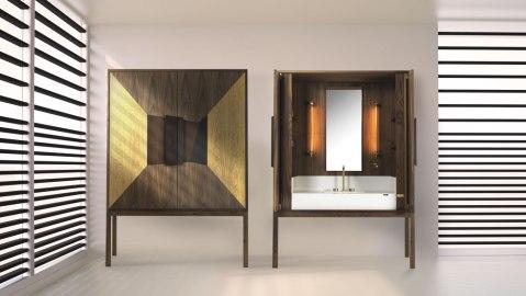 Consentino and Riva 1920 vanity