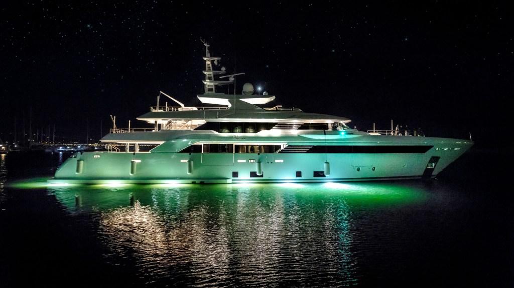 Italian CRN 50m SuperConero superyacht Latona