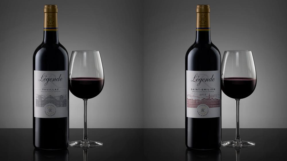 Pauillac and St. Emilion wine