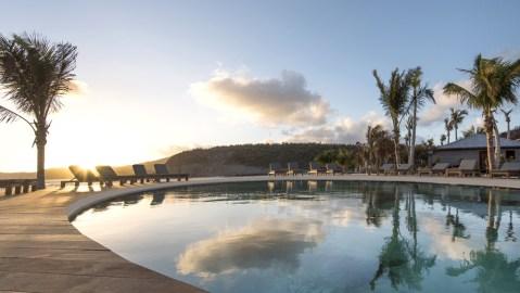 Hotel Manapany pool