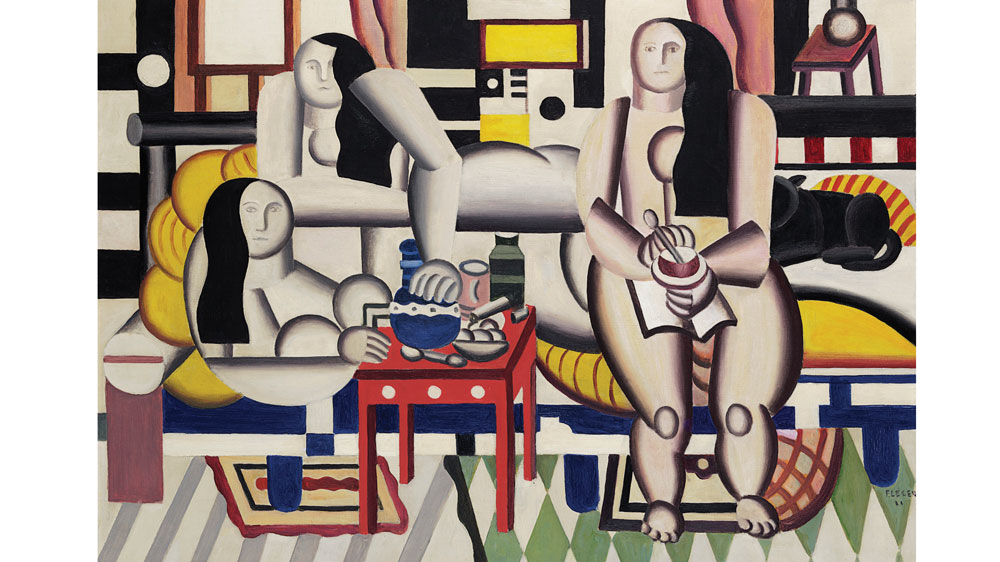 Fernand Léger painting