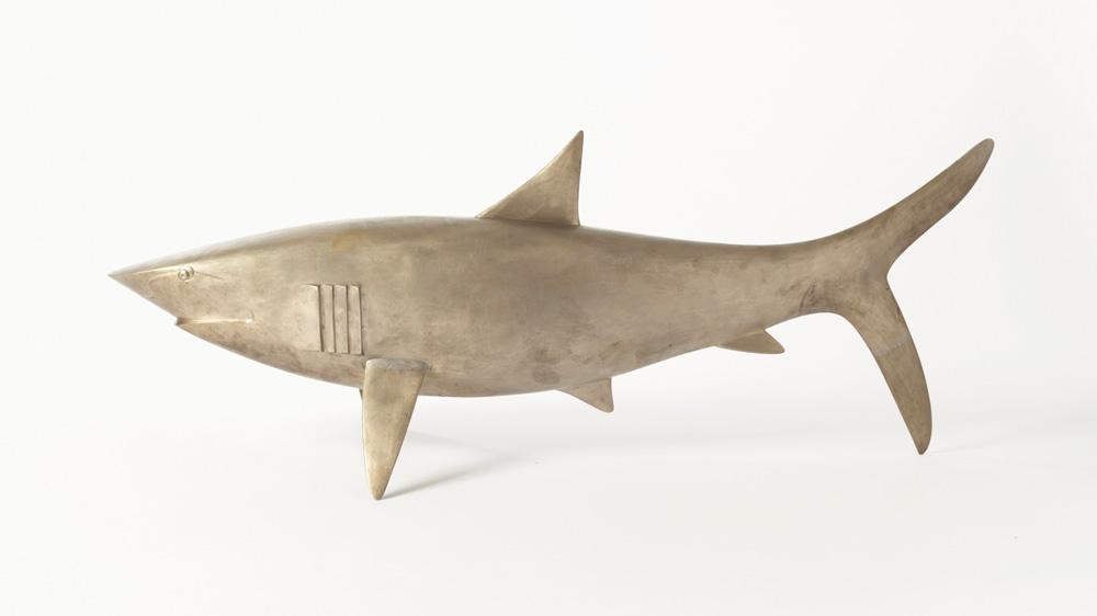 Requin sculpture