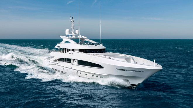Heesen Yachts White superyacht